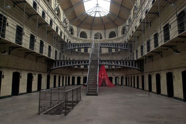 Many famous Irish leaders met their untimely ends at Kilmainham Gaol, so it is not surprising that ghosts are said to wander the prison's corridors.