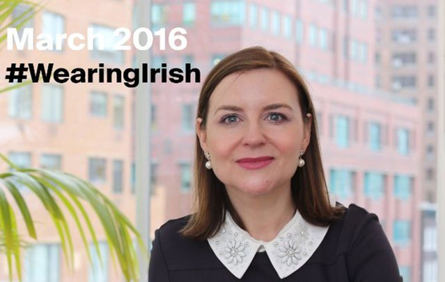 Margaret Molloy is spearheading a campaign encouraging people to wear Irish-made fashion.