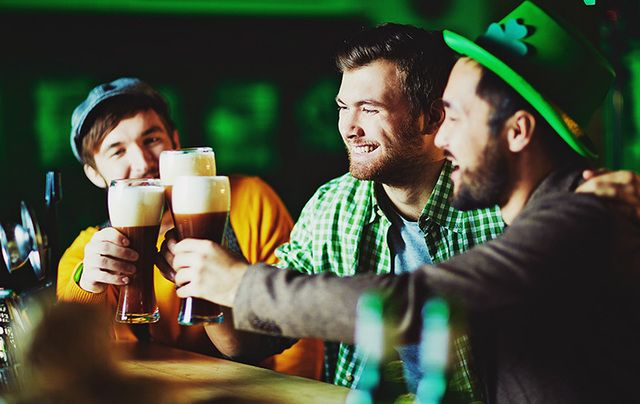 "A list of Irish St. Patrick's Day ""traditions"" you'll find only in America including green beer."