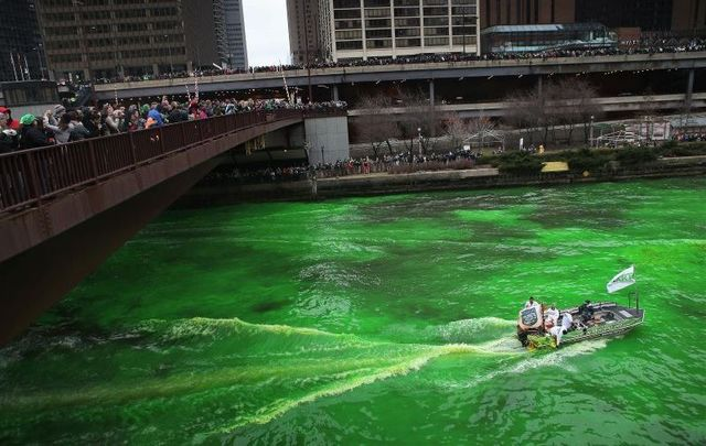 Every St. Patrick's Day, Chicago transforms from the Windy City into the Emerald City.