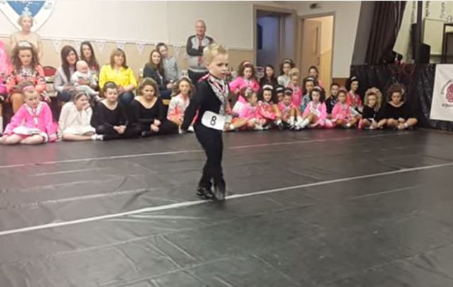 Young Irish dancer from Scotland, Oscar Donnelly, is a star in the making.