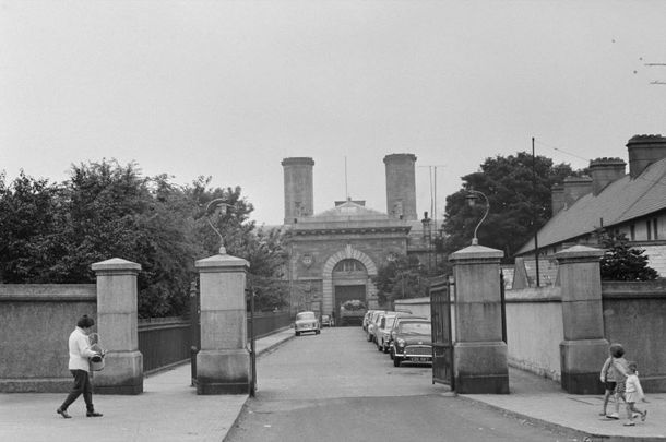 Mountjoy Prison in Dublin, pictured here in August 1968.