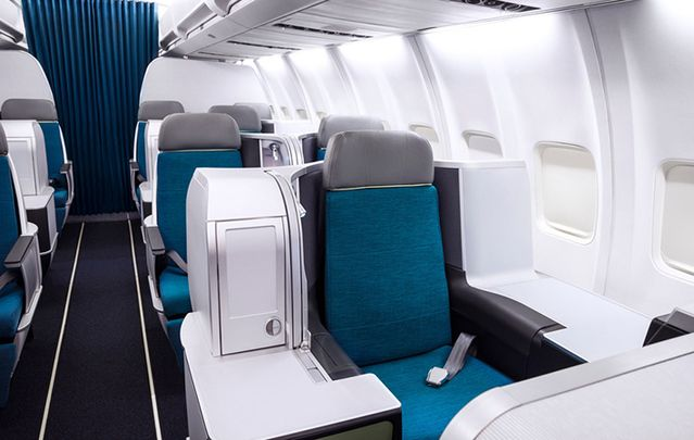 """Step inside"" Aer Lingus' airline's new Boeing 757 Business Class with Google Maps."