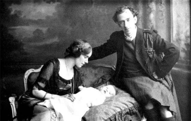 1916 Easter Rising leader Thomas MacDonagh and his family.