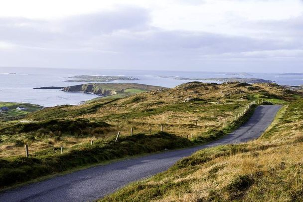 Some of the most beautiful sights you\'ll ever see along the Sky Road in Clifden, Co. Galway.