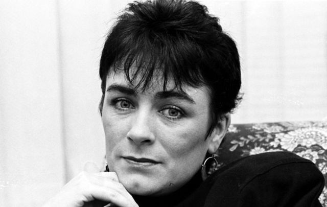 Irish vocalist Mary Black, pictured here in 1989