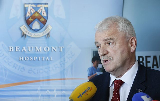 Junior Health Minister Finian McGrath opens the newly refurbished National Kidney Transplant Unit at Beaumont Hospital last week.