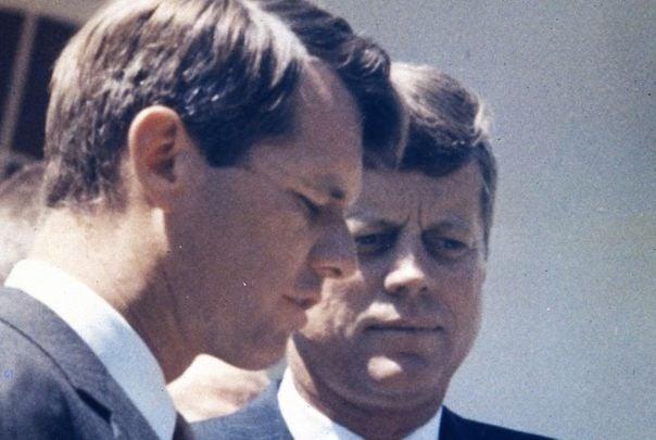 Robert F. Kennedy and President John F. Kennedy