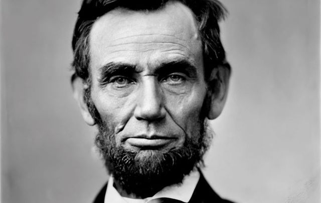 A photograph of President Abraham Lincoln taken on November 8, 1863, just days before his Gettysburg Address.