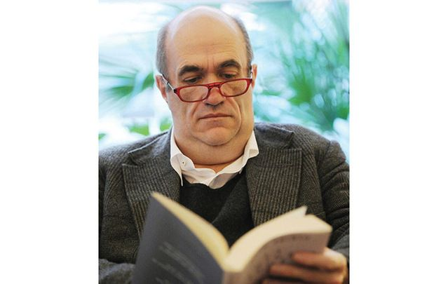 Irish writer Colm Toibin was among the 400 who signed a petition against Donald Trump's election.