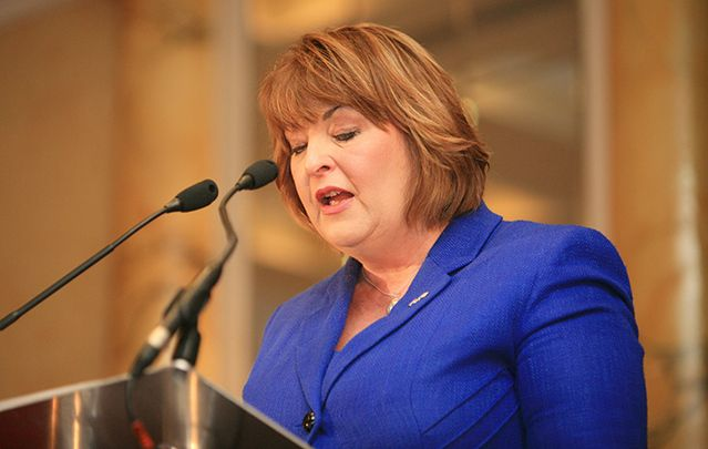 Scottish external affairs minister Fiona Hyslop.