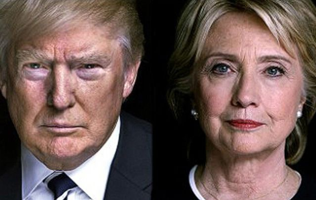 "Donald Trump and Hillary Clinton: ""There is a terrible synergy between Trump and the terrorists. The more violence the better for Trump."""