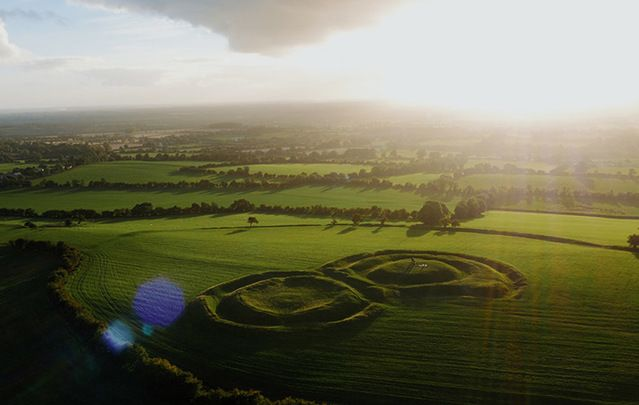 Ancient site, The Hill of Tara: Longest day of the year was of huge significance to ancient pagan society and is still recognized by the Irish.