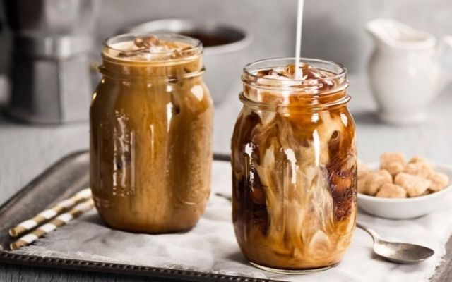 Erin Rose\'s famous frozen Irish coffee. If you thought Irish coffee was strictly for the winter months, you are happily quite mistaken.