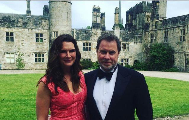 Brooke Sheilds and her husband fall for Lismore Castle, Waterford, big time.