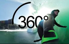 Feel what it's like to surf at the Cliffs of Moher with this 360° video