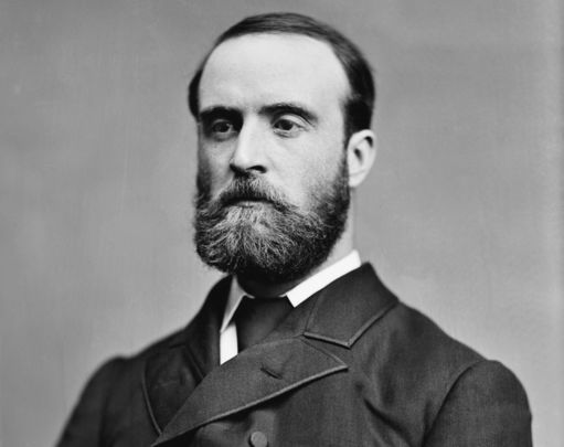 Charles Stewart Parnel, the Irish hero who married Kitty O\'Shea just months before he died in her arms.