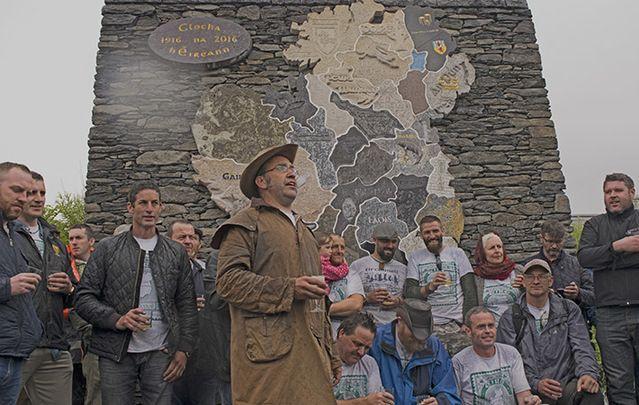 Clocha na hÉireann - a unique monument to Irish identity, a 1916 commemorative work.