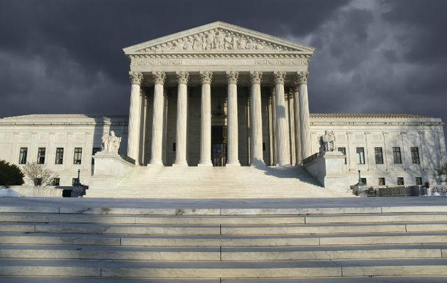 """The United States Supreme Court: """"Add immigration to the list then of vital issues in November -- and don't count any chickens."""""""
