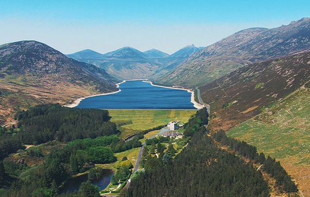"""Flying over the Mourne Mountains. From """"The Game of Thrones'"""" Dark Hedges to the Giant's Causeway – get inspired to venture north."""