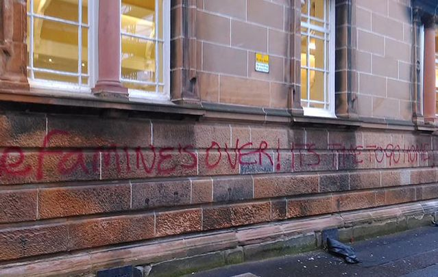 Act of vandalism targeting Irish Catholics in Glasgow confirmed to be of a sectarian nature.