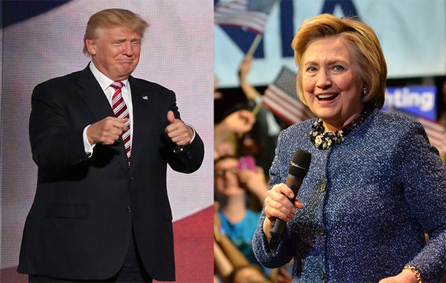 I bear sad tidings about our 2016 presidential candidates Donald Trump and Hillary Clinton.