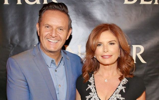 Mark Burnett and Roma Downey.