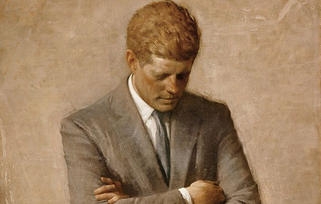 John F. Kennedy: Manic depressive people have an easier time solving problems in a time of crisis.