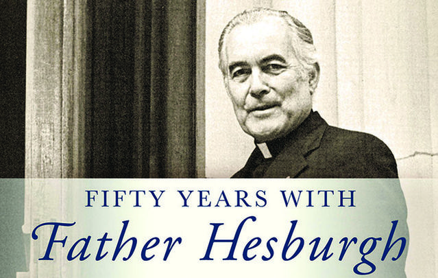 Theodore Martin Hesburgh was more Irish than his last name might suggest...