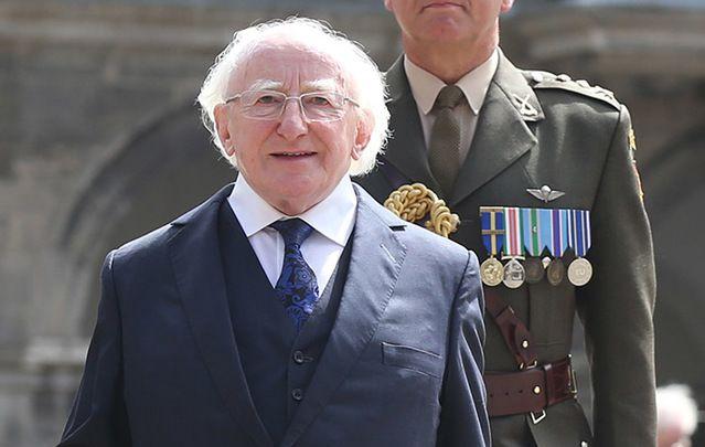Ireland's President Michael D. Higgins.