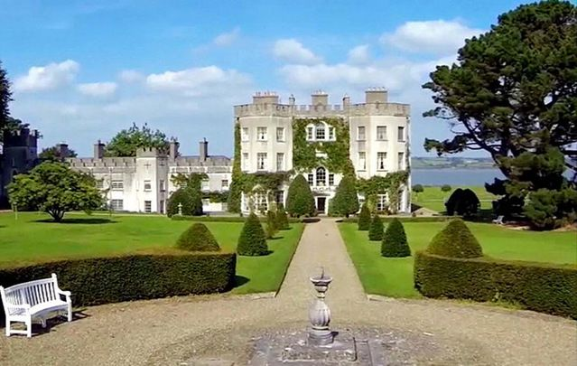 Glin Castle, Limerick: Star plans to move to Ireland to become manager of Limerick hotel, in family's ancestral home of 700 years.