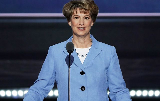 Retired Col. Eileen Collins, former NASA Astronaut.