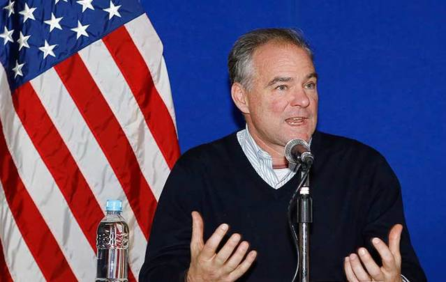 Announcement expected this weekend that Tim Kaine will be on the Democratic ticket.