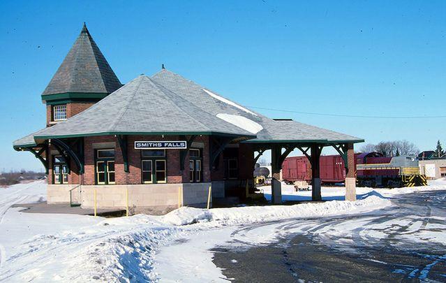 CN station, Smiths Falls Ontario.