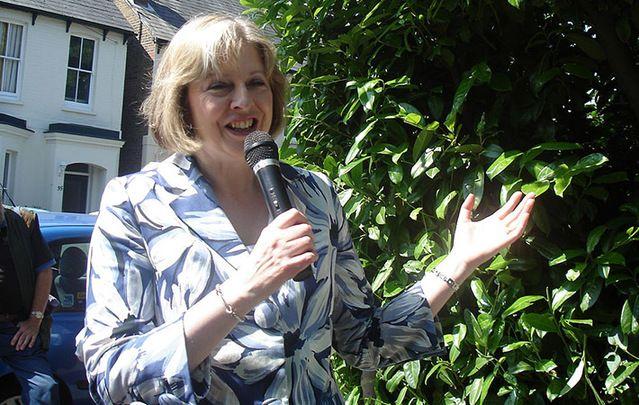 Incoming British Prime Minister Theresa May.