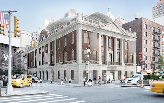 The old ghosts will be unhappy at demise of  Irish American political landmark. Above: The proposed renovation.