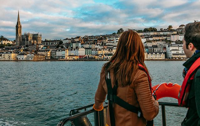 The captivating, beautiful town of Cobh, County Cork, steeped in history, amazingly picturesque and bustling with activity.