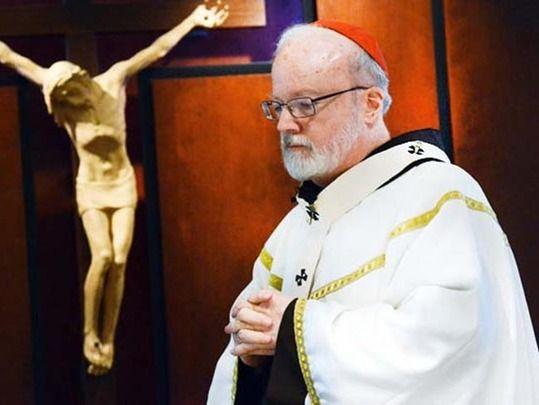 Boston Cardinal Sean O'Malley.