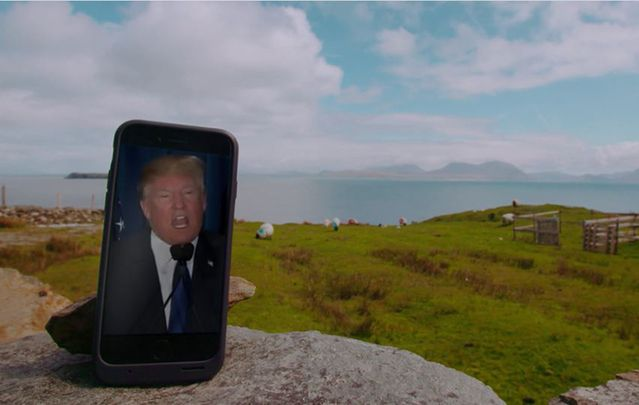 A short documentary film delves into how Inishturk's people feel about all the attention their home is getting as an alternative to Trump's America.