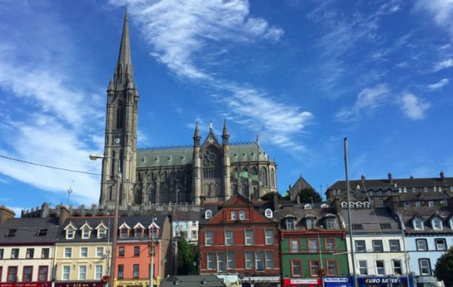 I climbed up Cobh Cathedral's spire to experience the rare Carillon, made of 49 steel bells.