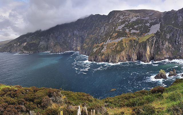 The amazing restorative views of the Donegal coastline.