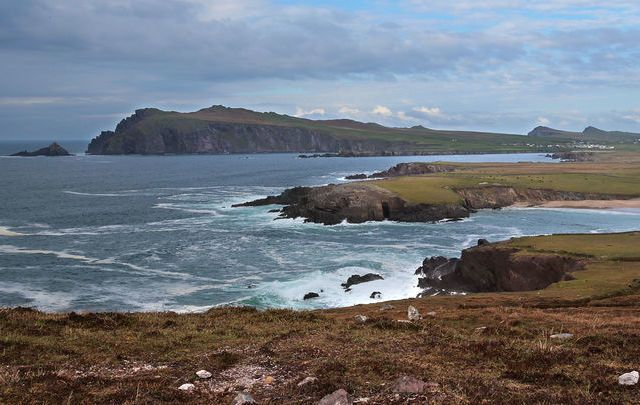 A view from the Dingle Peninsula, in County Kerry.