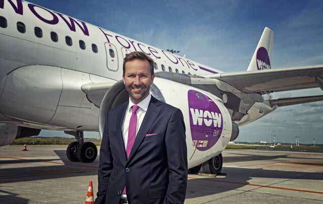 CEO of WOW air Skuli Mogensen.
