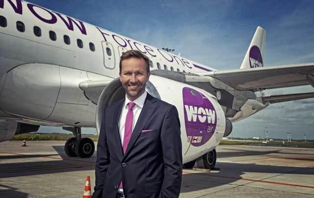 CEO of WOW air Skuli Mogensen.