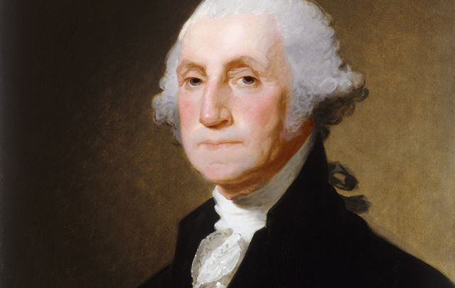 George Washington, the first president of the United States.