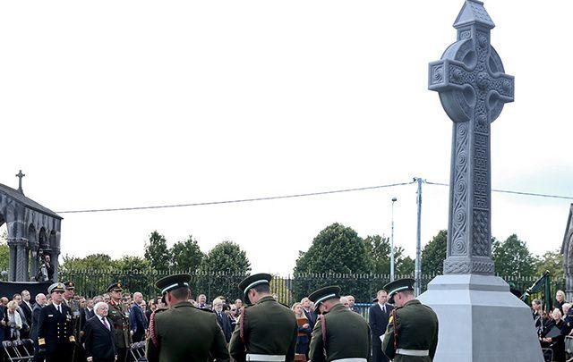 2016 National Famine Commemoration in Dublin's Glasnevin Cemetery.