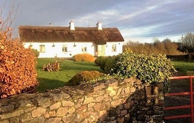 A cozy cottage at Derryhippo, Castlecoote, County Roscommon.