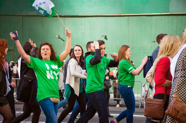 Planned New York St. Patrick's Day Parade Committee meeting goes ahead.