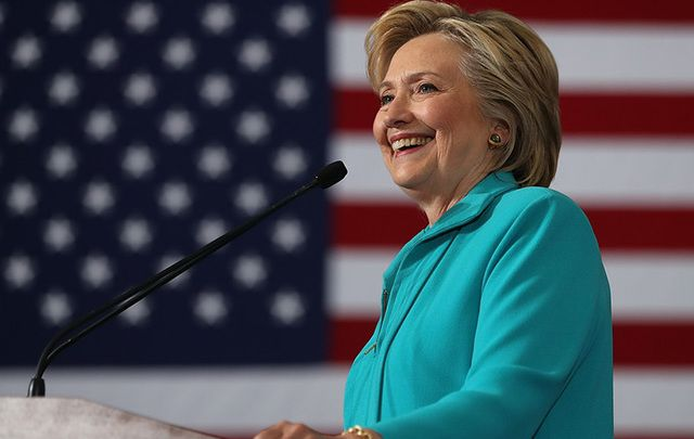"Hillary Clinton's health scare: ""She's fine, totally fine,"" says Rep Joe Crowley."