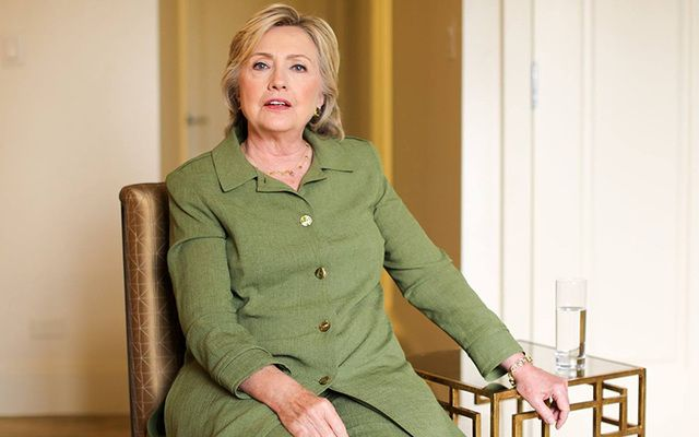 "Hillary Clinton told Humans of New York ""I know that I can be perceived as aloof or cold or unemotional. But I had to learn as a young woman to control my emotions."""